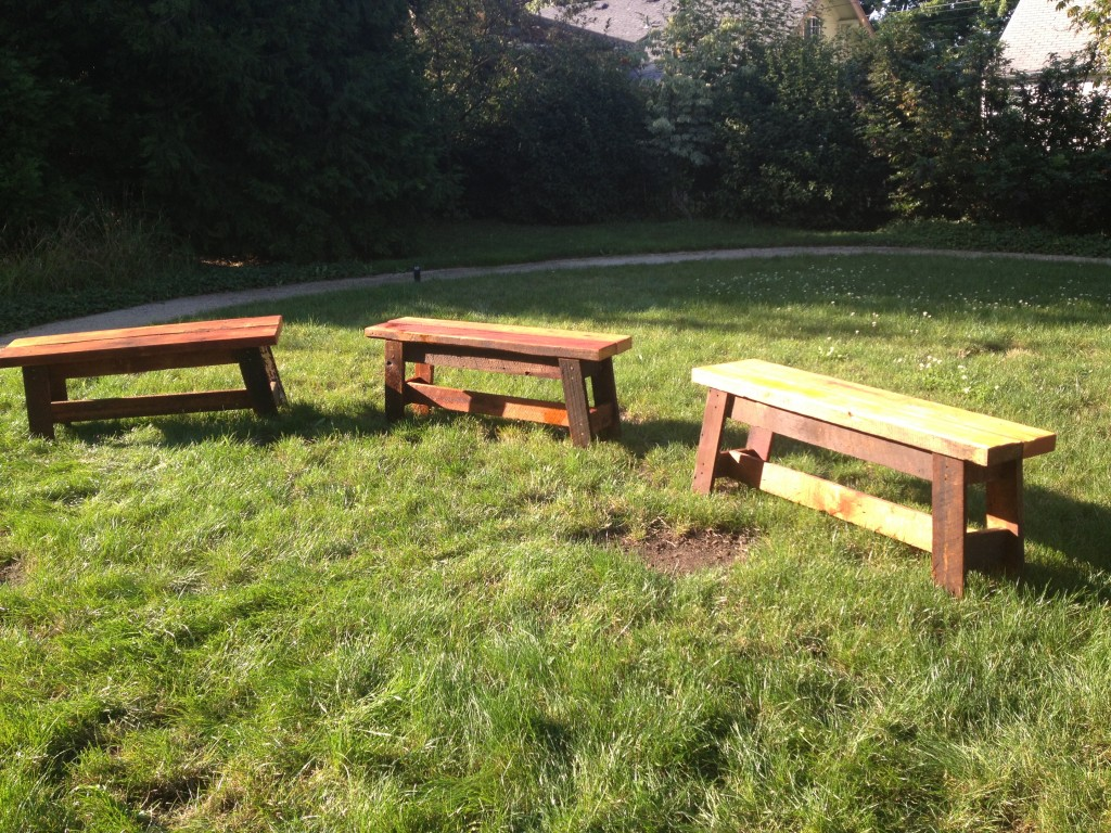 Community Benches by NPTL